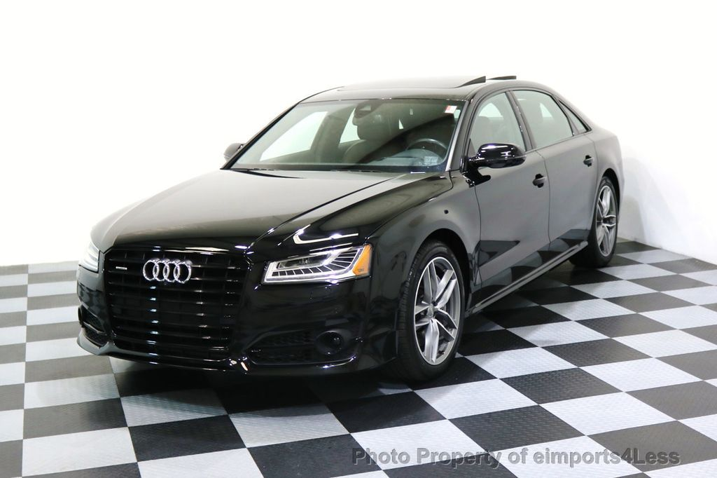2017 Audi A8 L CERTIFIED A8L 4.0T SPORT Quattro AWD BLACK OPTIC - 17334099 - 0