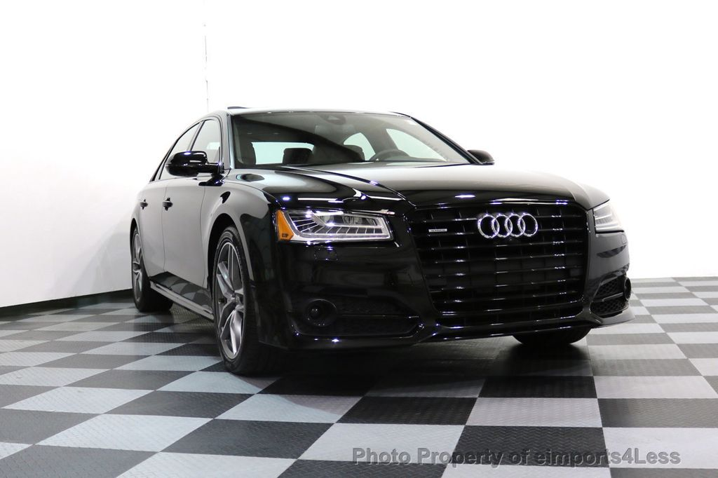 2017 Audi A8 L CERTIFIED A8L 4.0T SPORT Quattro AWD BLACK OPTIC - 17334099 - 16