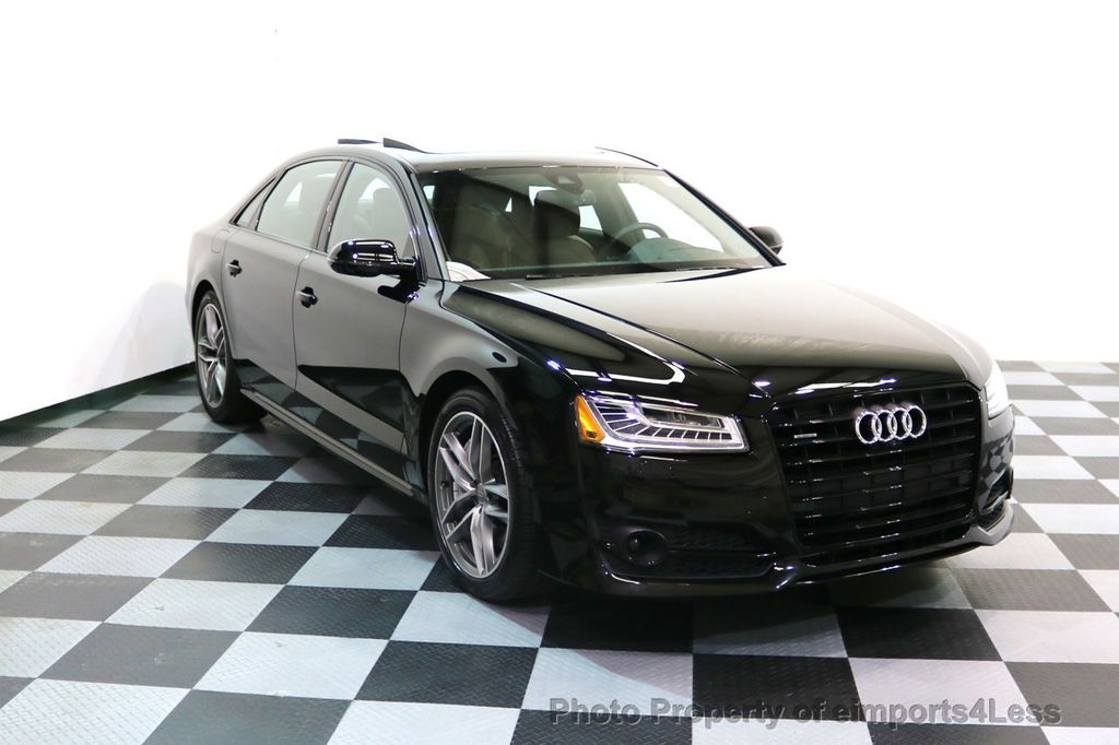 2017 Audi A8 L CERTIFIED A8L 4.0T SPORT Quattro AWD BLACK OPTIC - 17334099 - 1