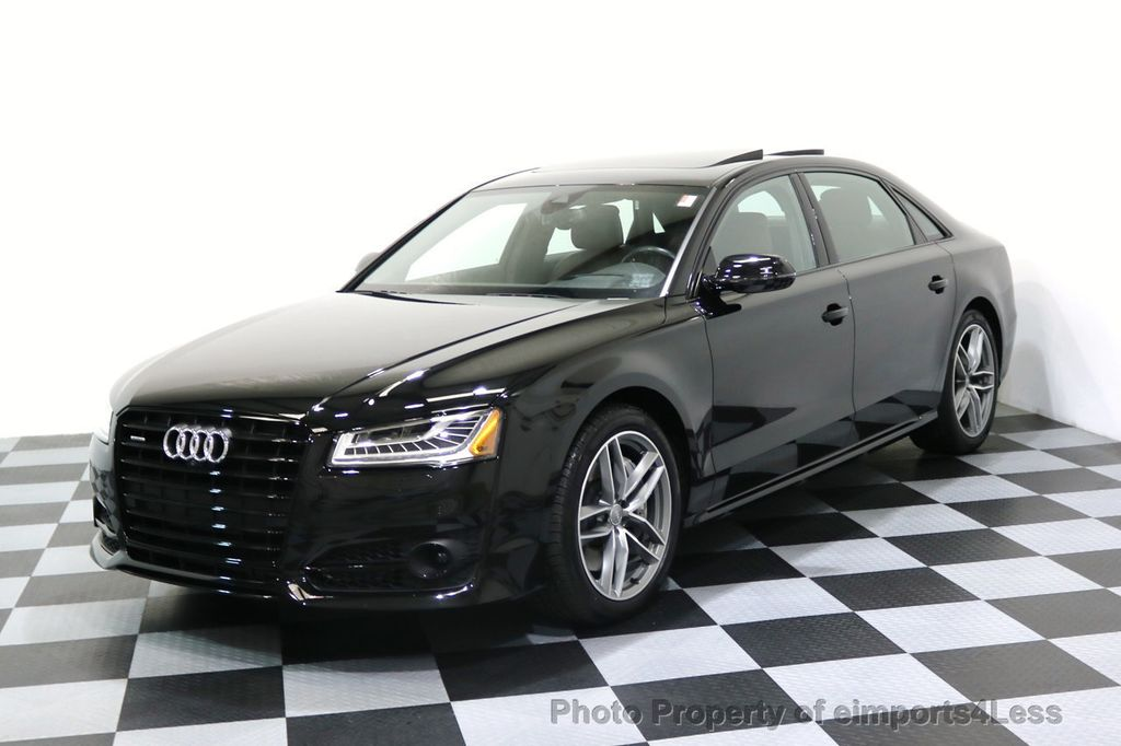 2017 Audi A8 L CERTIFIED A8L 4.0T SPORT Quattro AWD BLACK OPTIC - 17334099 - 33