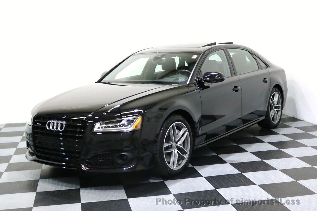 2017 Used Audi A8 L Certified A8l 40t Sport Quattro Awd Black Optic