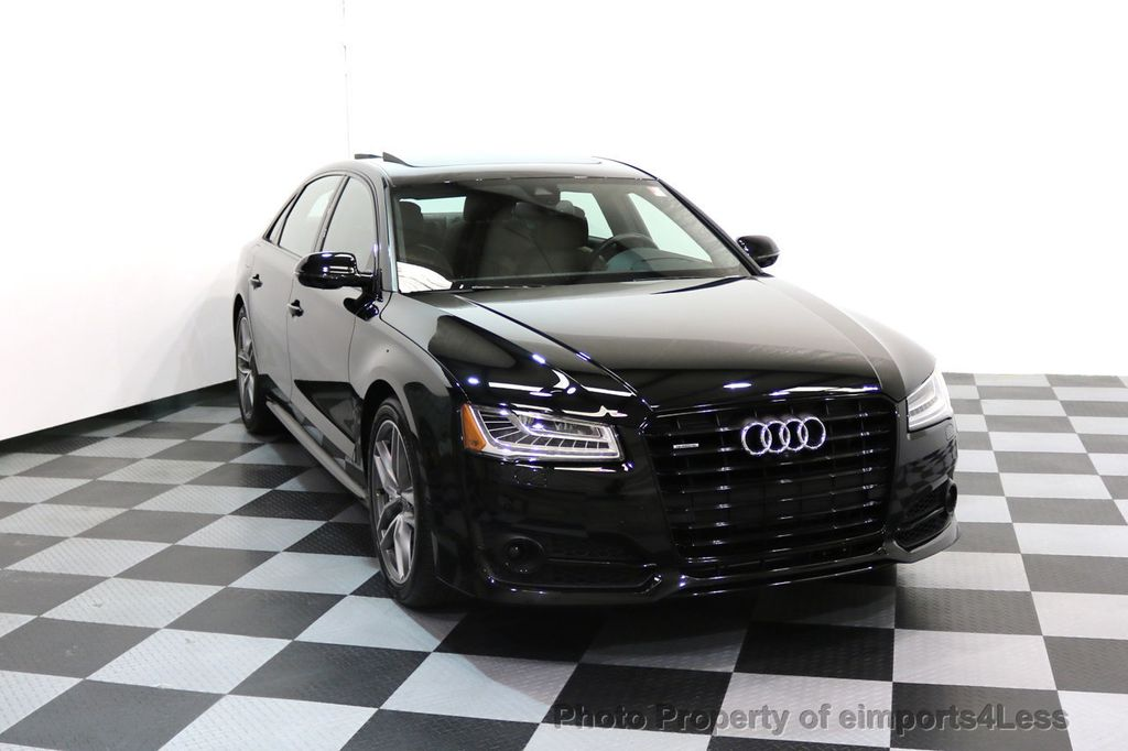 2017 Audi A8 L CERTIFIED A8L 4.0T SPORT Quattro AWD BLACK OPTIC - 17334099 - 34
