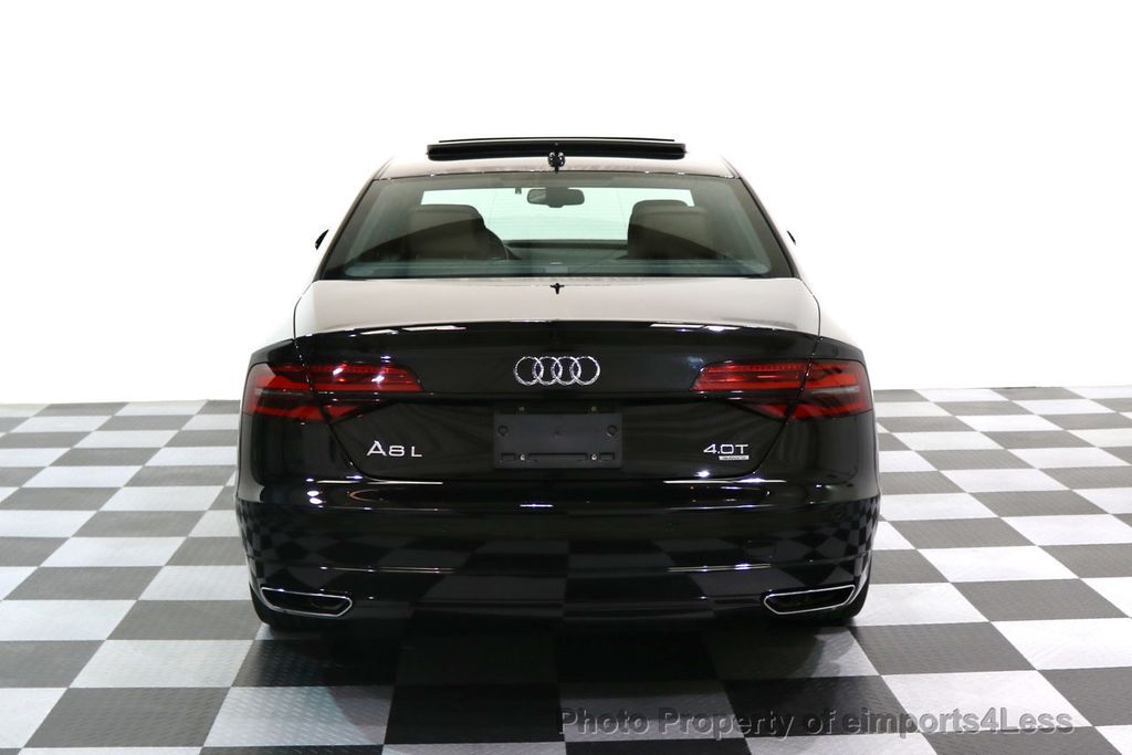 2017 Audi A8 L CERTIFIED A8L 4.0T SPORT Quattro AWD BLACK OPTIC - 17334099 - 36