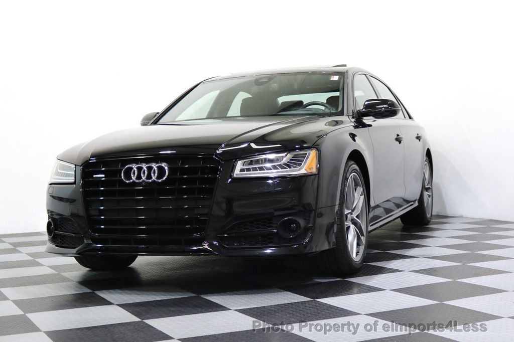 2017 Audi A8 L CERTIFIED A8L 4.0T SPORT Quattro AWD BLACK OPTIC - 17334099 - 51