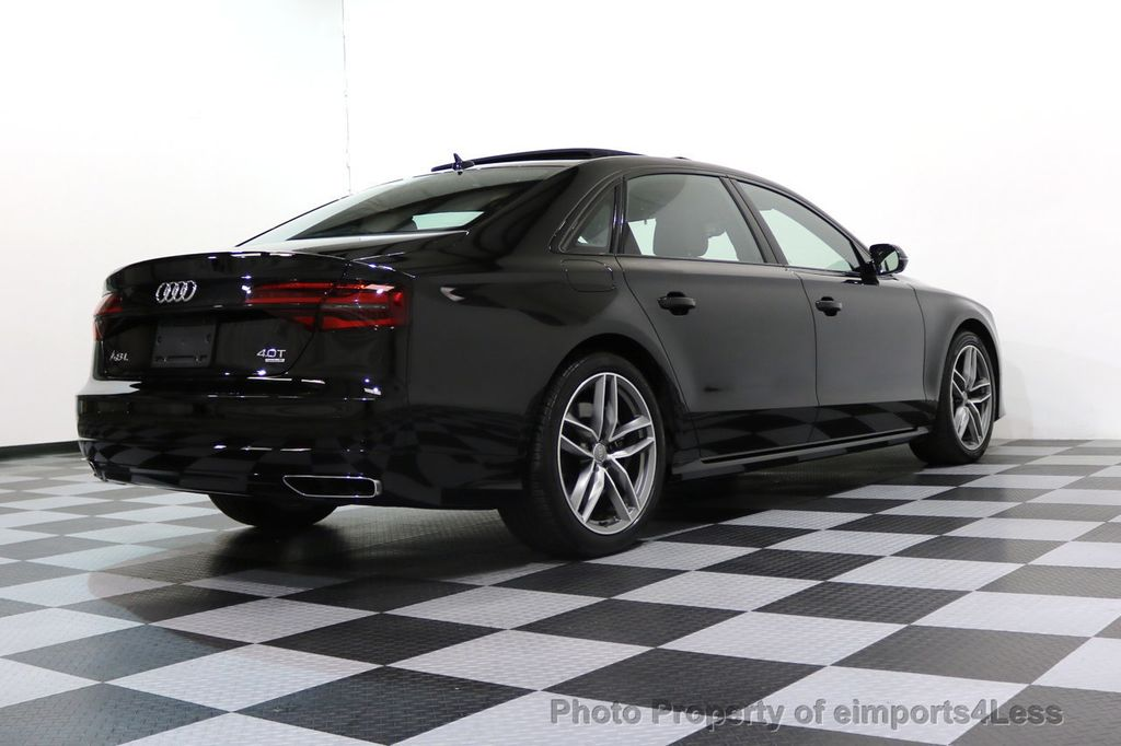 2017 Audi A8 L CERTIFIED A8L 4.0T SPORT Quattro AWD BLACK OPTIC - 17334099 - 54