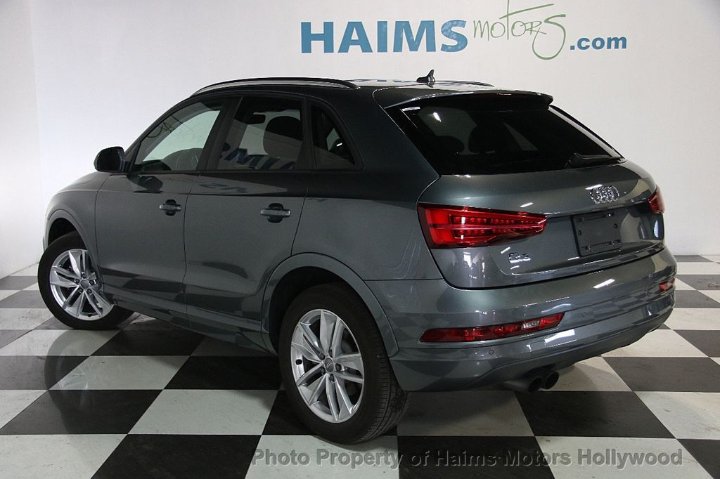 2017 used audi q3 2 0 tfsi premium fwd at haims motors ft lauderdale serving lauderdale lakes. Black Bedroom Furniture Sets. Home Design Ideas