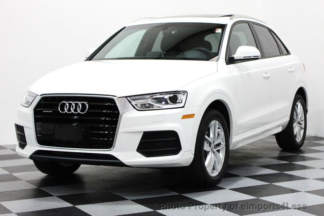2017 used audi q3 certified q3 2 0t quattro awd suv camera. Black Bedroom Furniture Sets. Home Design Ideas