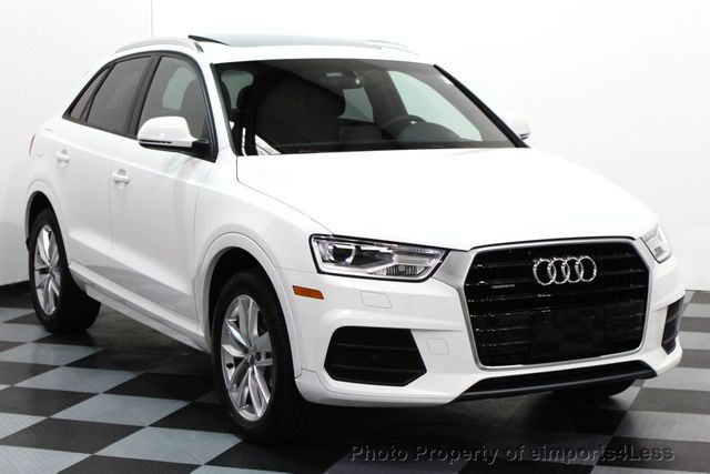 2017 used audi q3 certified q3 2 0t quattro awd suv camera navigation at eimports4less serving. Black Bedroom Furniture Sets. Home Design Ideas