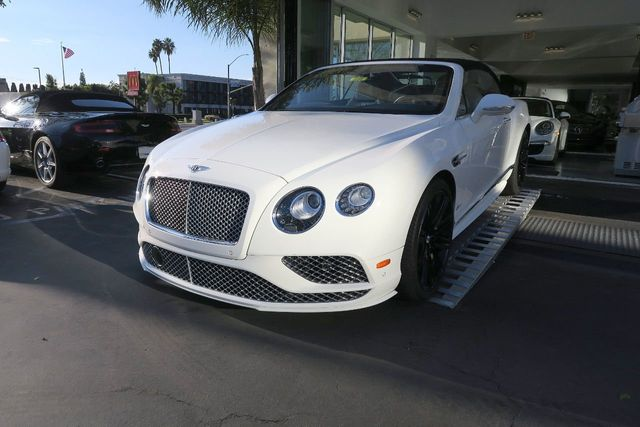 2017 Bentley Continental GT Speed Convertible - Click to see full-size photo viewer