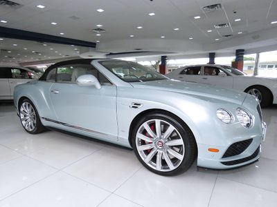 2017 Bentley Continental GT V8 S  Convertible - Click to see full-size photo viewer