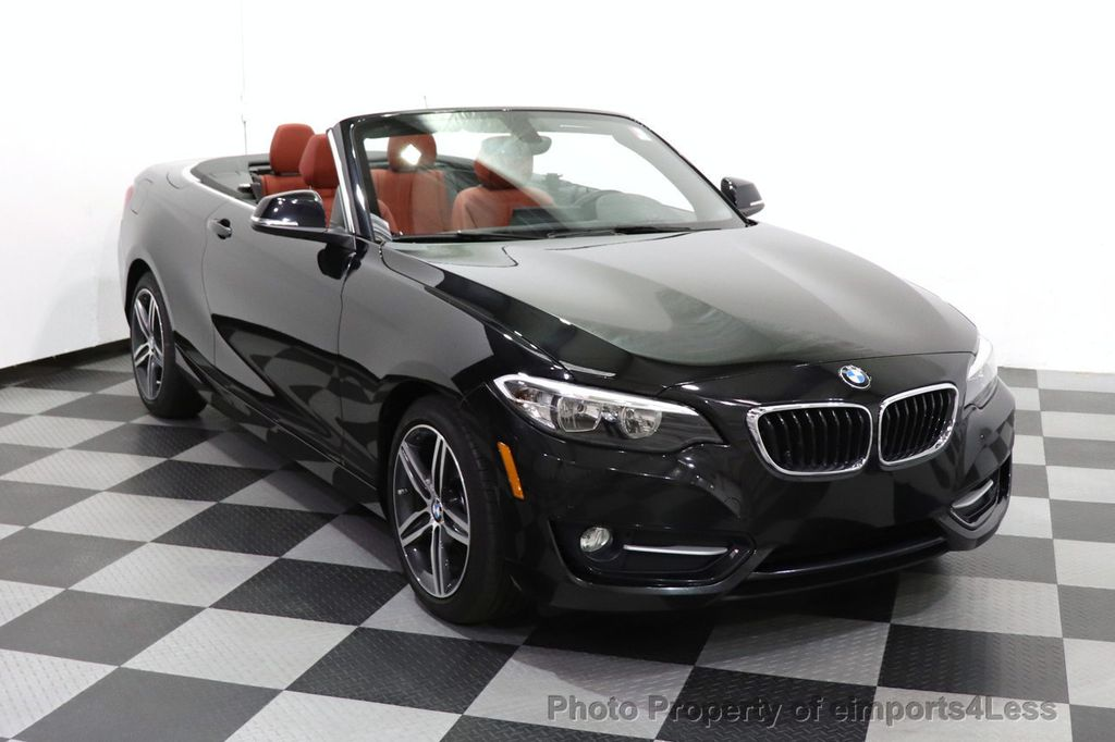 2017 BMW 2 Series CERTIFIED 230i xDrive PREMIUM AWD CONVERTIBLE CORAL RED - 18467692 - 11