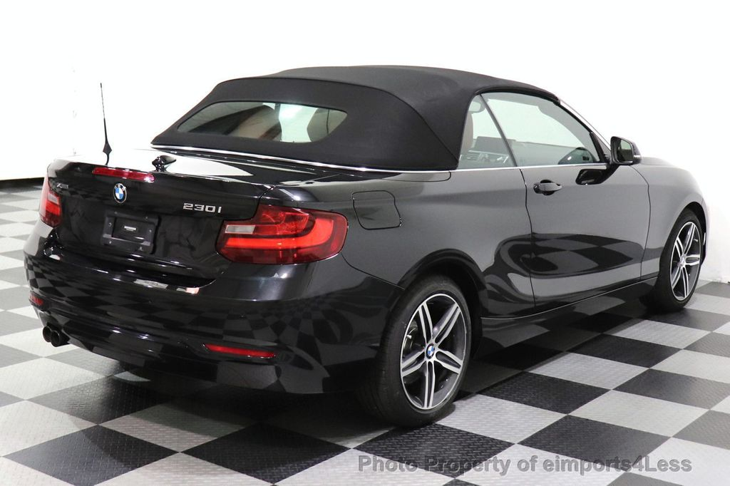 2017 BMW 2 Series CERTIFIED 230i xDrive PREMIUM AWD CONVERTIBLE CORAL RED - 18467692 - 14