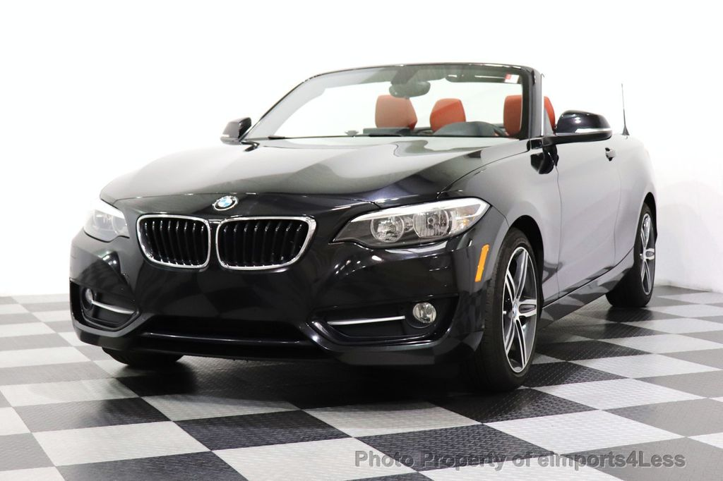 2017 BMW 2 Series CERTIFIED 230i xDrive PREMIUM AWD CONVERTIBLE CORAL RED - 18467692 - 21