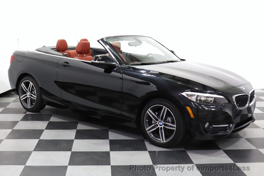 2017 BMW 2 Series CERTIFIED 230i xDrive PREMIUM AWD CONVERTIBLE CORAL RED - 18467692 - 22