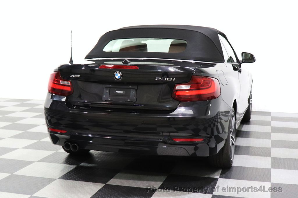 2017 BMW 2 Series CERTIFIED 230i xDrive PREMIUM AWD CONVERTIBLE CORAL RED - 18467692 - 25