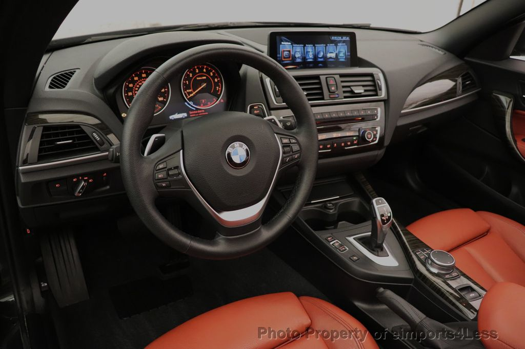 2017 BMW 2 Series CERTIFIED 230i xDrive PREMIUM AWD CONVERTIBLE CORAL RED - 18467692 - 26