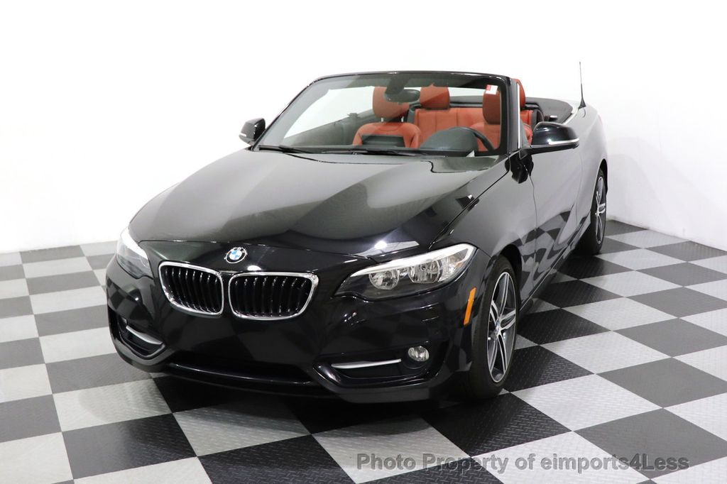 2017 BMW 2 Series CERTIFIED 230i xDrive PREMIUM AWD CONVERTIBLE CORAL RED - 18467692 - 34