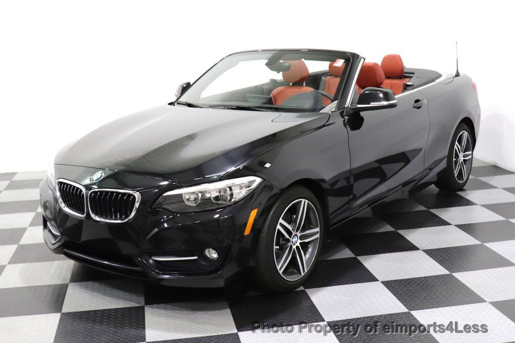 2017 BMW 2 Series CERTIFIED 230i xDrive PREMIUM AWD CONVERTIBLE CORAL RED - 18467692 - 35