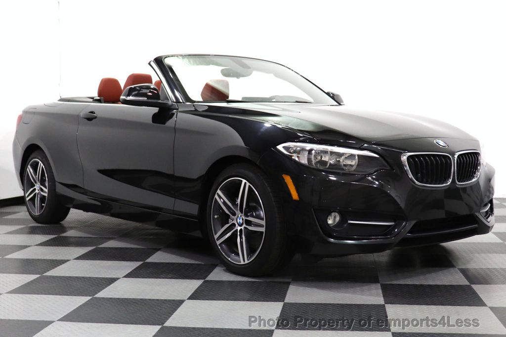 2017 BMW 2 Series CERTIFIED 230i xDrive PREMIUM AWD CONVERTIBLE CORAL RED - 18467692 - 36