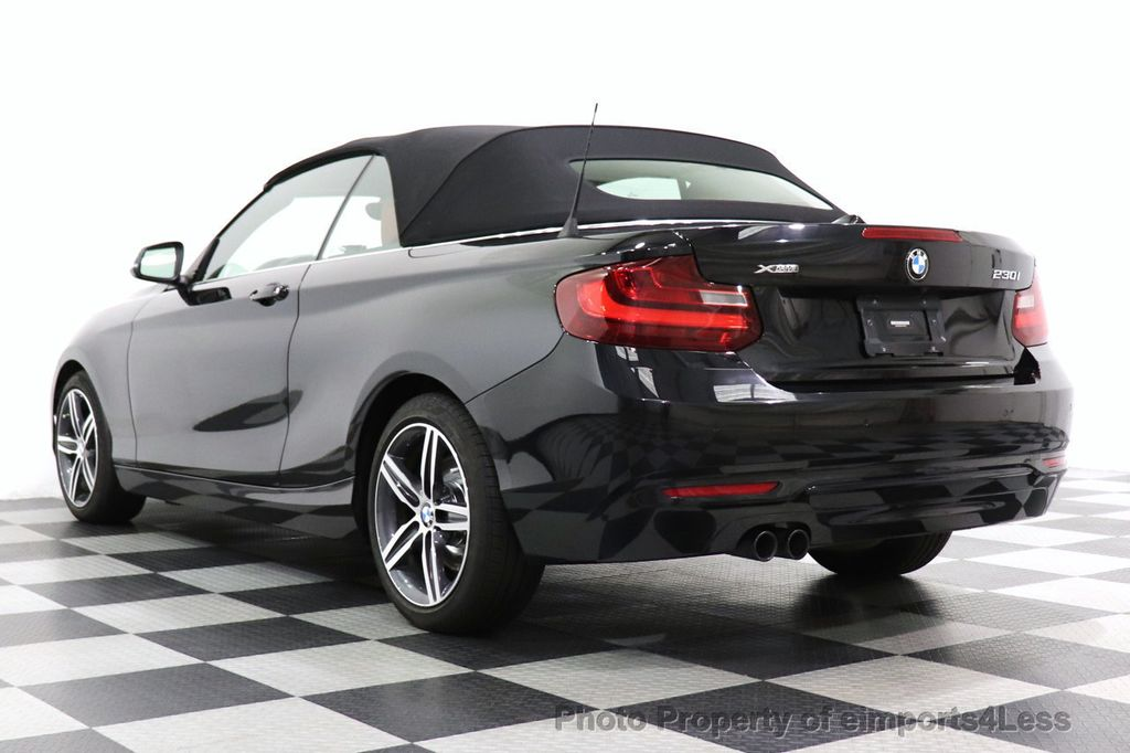 2017 BMW 2 Series CERTIFIED 230i xDrive PREMIUM AWD CONVERTIBLE CORAL RED - 18467692 - 3