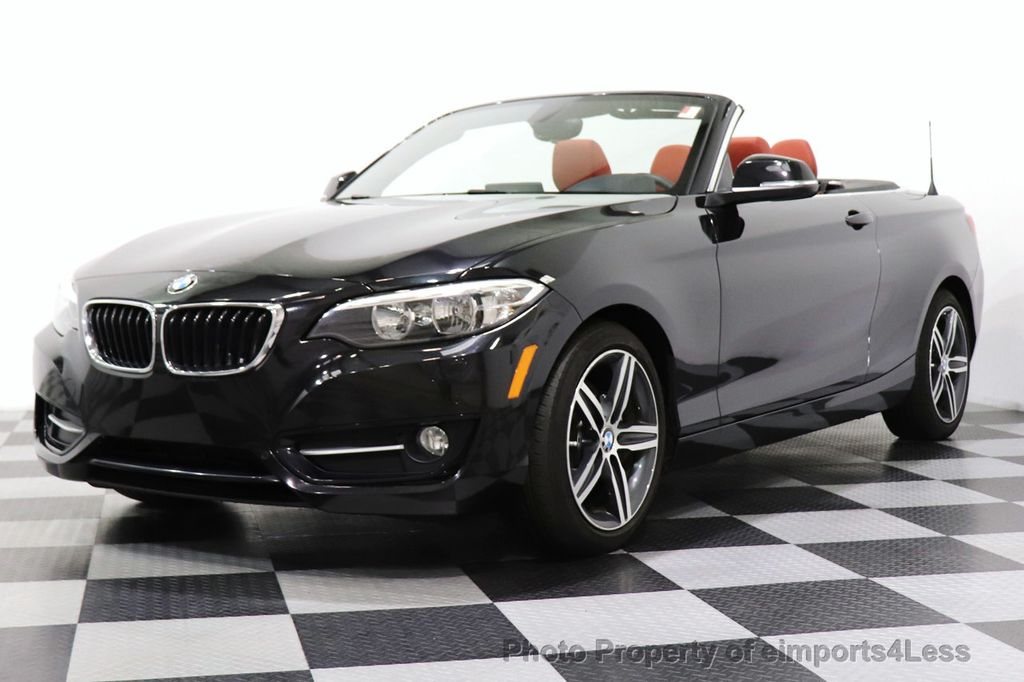 2017 BMW 2 Series CERTIFIED 230i xDrive PREMIUM AWD CONVERTIBLE CORAL RED - 18467692 - 42