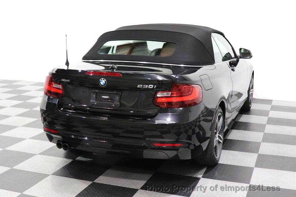 2017 BMW 2 Series CERTIFIED 230i xDrive PREMIUM AWD CONVERTIBLE CORAL RED - 18467692 - 44