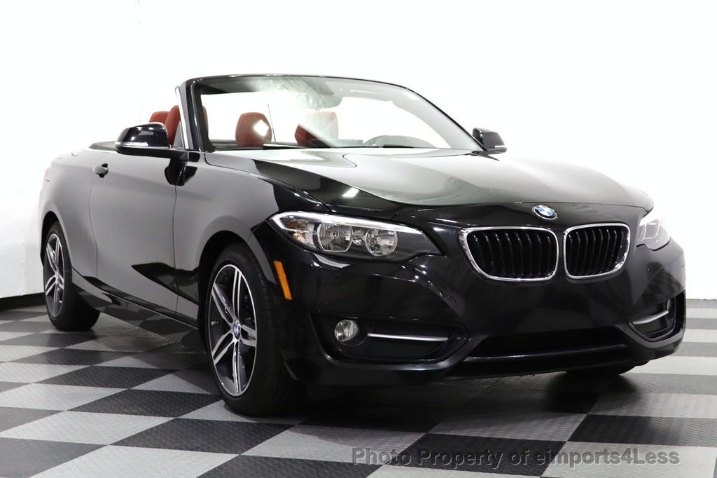 2017 BMW 2 Series CERTIFIED 230i xDrive PREMIUM AWD CONVERTIBLE CORAL RED - 18467692 - 45