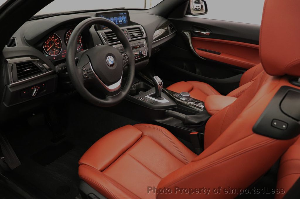 2017 BMW 2 Series CERTIFIED 230i xDrive PREMIUM AWD CONVERTIBLE CORAL RED - 18467692 - 5