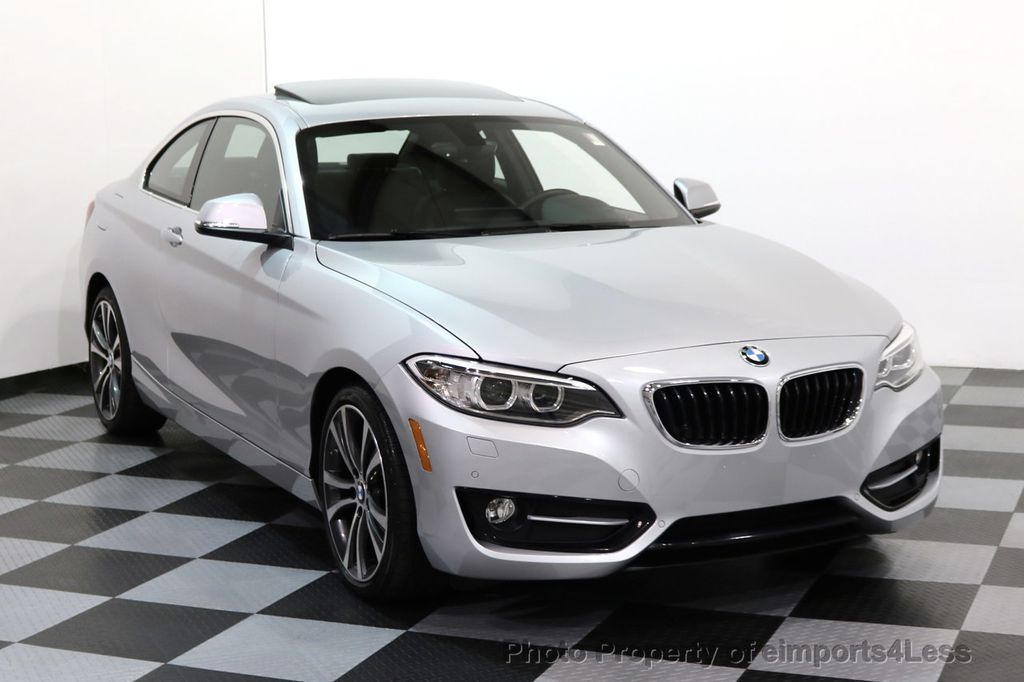 2017 BMW 2 Series CERTIFIED 230i xDRIVE SPORT PREMIUM COLD NAVI  - 17111182 - 1