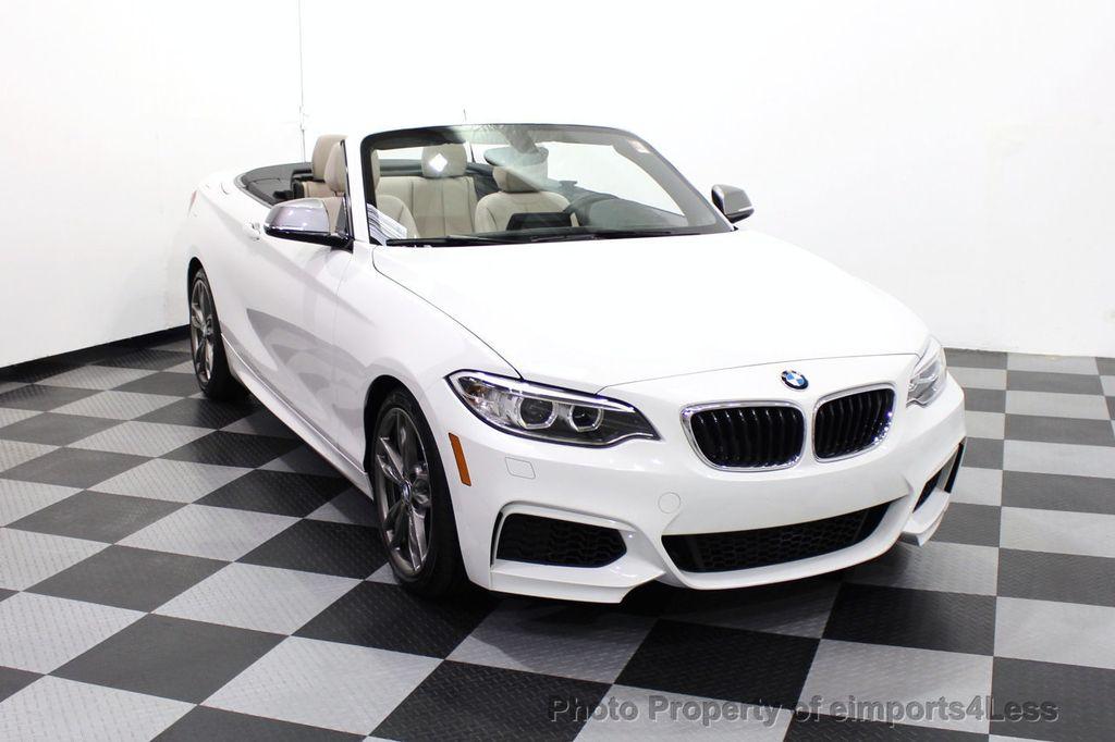 2017 BMW 2 Series CERTIFIED M240i 6 SPEED MANUAL TRANSMISSION - 18051537 - 28