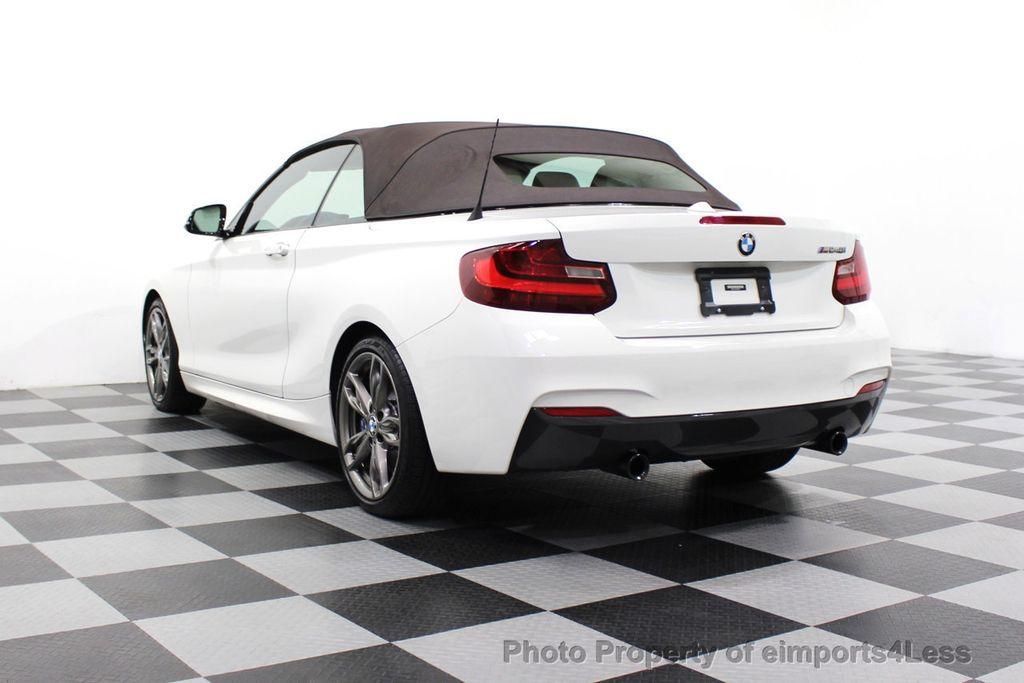 2017 BMW 2 Series CERTIFIED M240i 6 SPEED MANUAL TRANSMISSION - 18051537 - 29