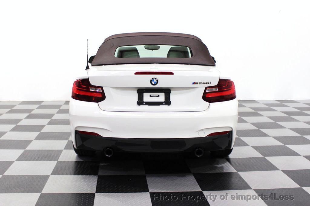 2017 BMW 2 Series CERTIFIED M240i 6 SPEED MANUAL TRANSMISSION - 18051537 - 30