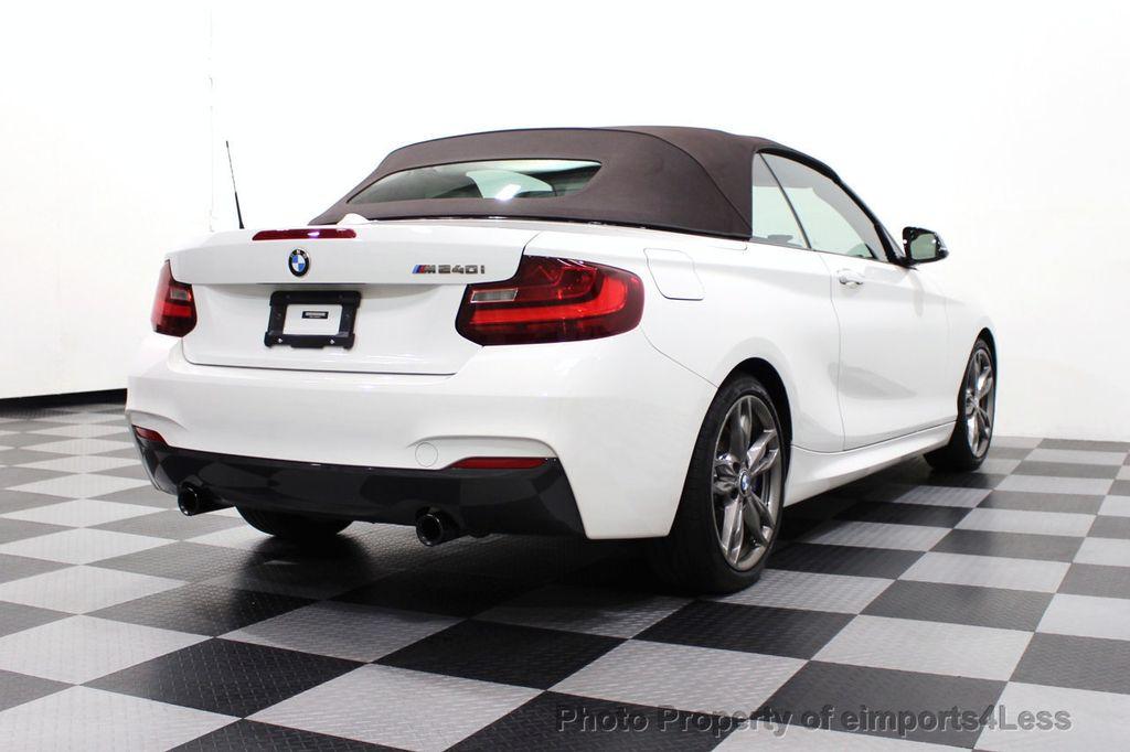 2017 BMW 2 Series CERTIFIED M240i 6 SPEED MANUAL TRANSMISSION - 18051537 - 3