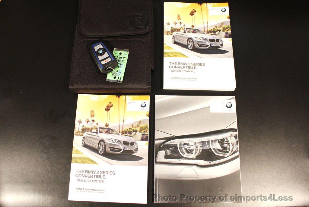 2017 BMW 2 Series CERTIFIED M240i 6 SPEED MANUAL TRANSMISSION - 18051537 - 39