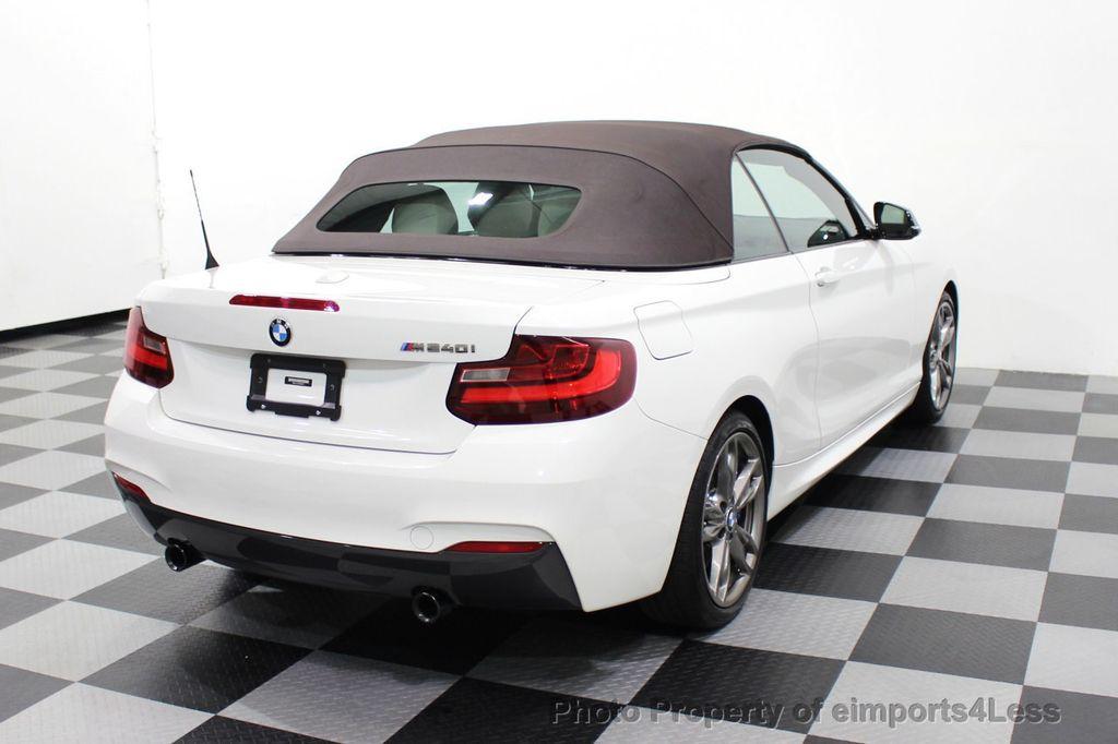 2017 BMW 2 Series CERTIFIED M240i 6 SPEED MANUAL TRANSMISSION - 18051537 - 46