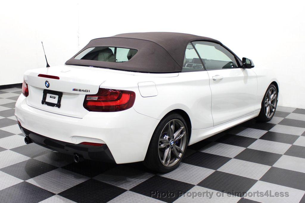 2017 BMW 2 Series CERTIFIED M240i 6 SPEED MANUAL TRANSMISSION - 18051537 - 54