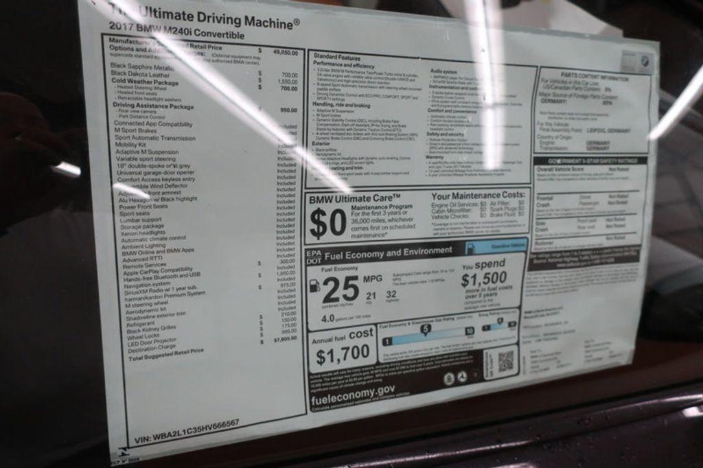 2017 BMW 2 Series M240i - 16727816 - 16