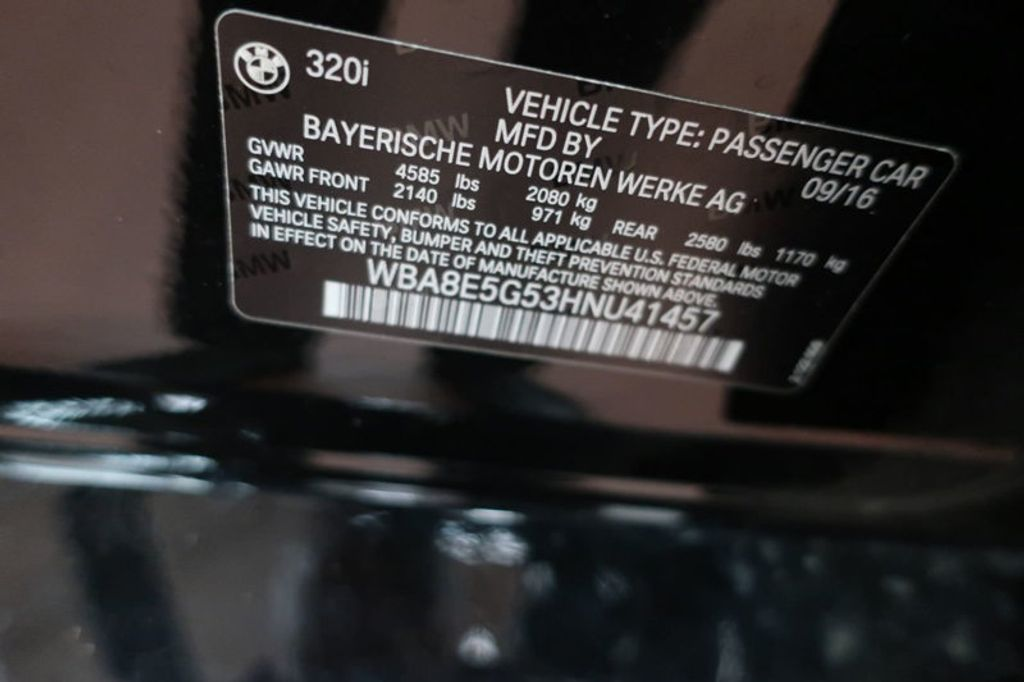2017 BMW 3 Series 320i xDrive - 16704751 - 47