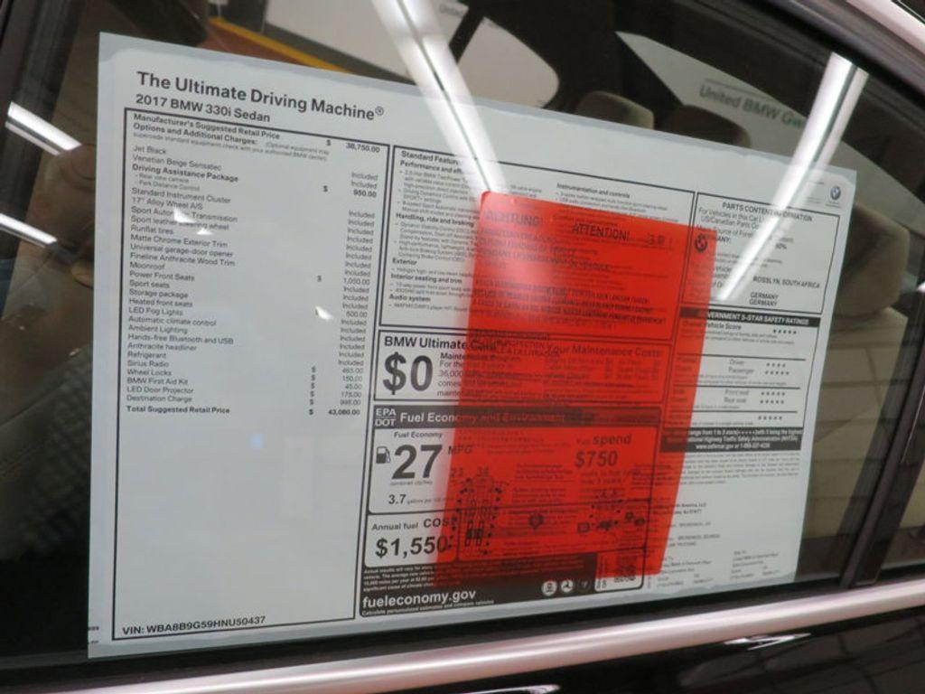 2017 BMW 3 Series 330i - 15749842 - 56