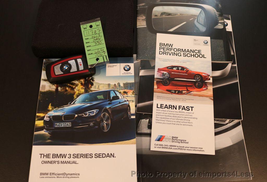 2017 BMW 3 Series CERTIFIED 330i xDRIVE AWD PREMIUM COLD NAV - 17028258 - 39