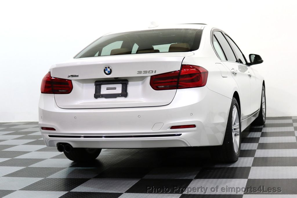 2017 BMW 3 Series CERTIFIED 330i xDRIVE AWD PREMIUM COLD NAV - 17028258 - 45