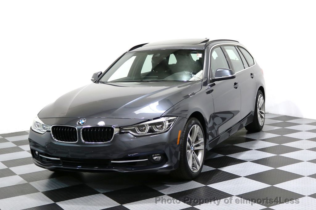 2017 BMW 3 Series CERTIFIED 330i xDRIVE SPORTS WAGON AWD NAV CAM TECH - 17098792 - 0