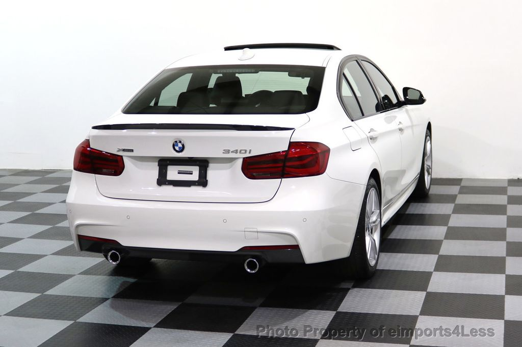 2017 BMW 3 Series CERTIFIED 340i xDRIVE M Sport WITH M PERFORMANCE PKG - 17334098 - 18