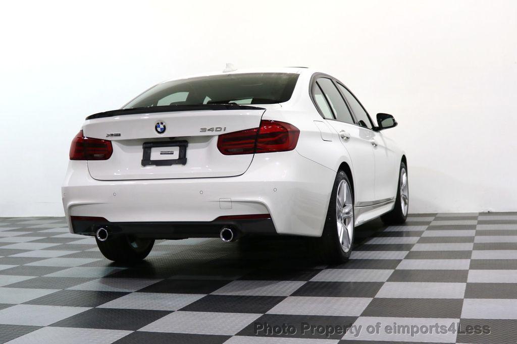 2017 BMW 3 Series CERTIFIED 340i xDRIVE M Sport WITH M PERFORMANCE PKG - 17334098 - 42