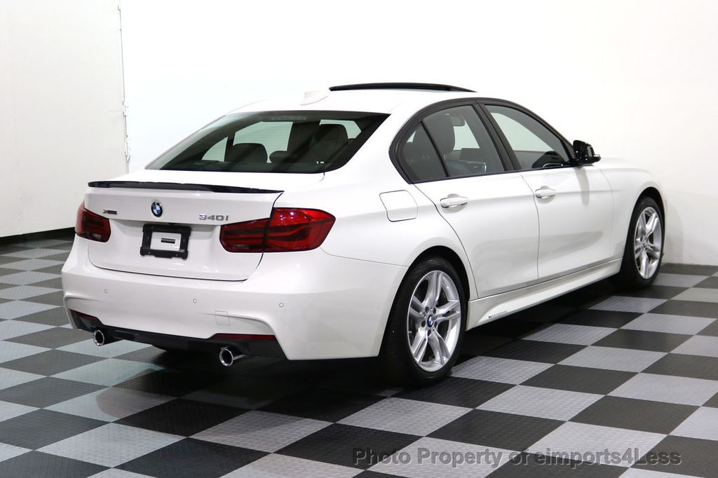 2017 BMW 3 Series CERTIFIED 340i xDRIVE M Sport WITH M PERFORMANCE PKG - 17334098 - 48