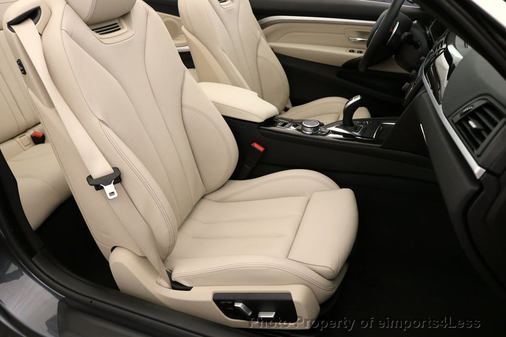 2017 BMW 4 Series CERTIFIED 430i Sport Line CAMERA NAVIGATION - 17614194 - 23