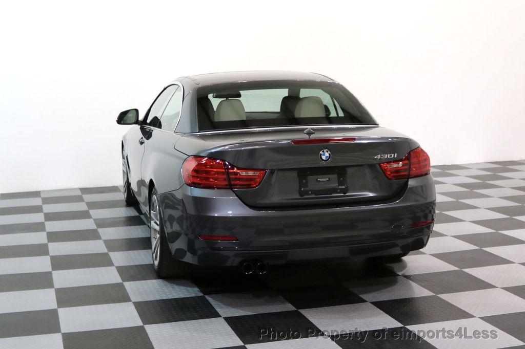 2017 BMW 4 Series CERTIFIED 430i Sport Line CAMERA NAVIGATION - 17614194 - 29