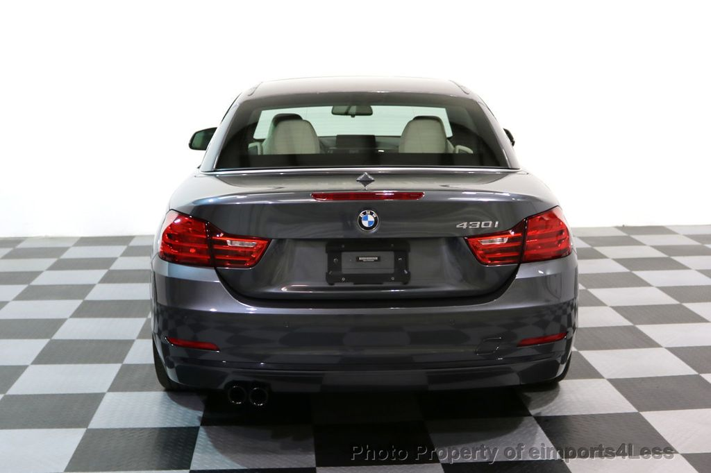 2017 BMW 4 Series CERTIFIED 430i Sport Line CAMERA NAVIGATION - 17614194 - 30