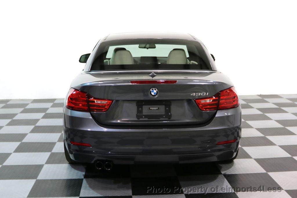 2017 BMW 4 Series CERTIFIED 430i Sport Line CAMERA NAVIGATION - 17614194 - 30