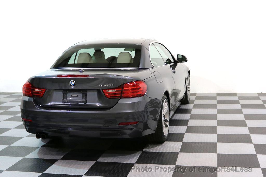 2017 BMW 4 Series CERTIFIED 430i Sport Line CAMERA NAVIGATION - 17614194 - 31
